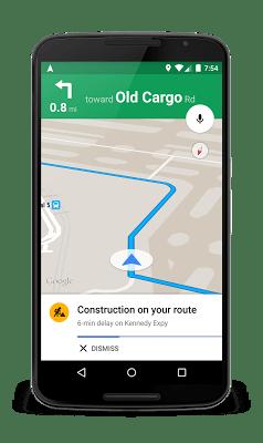 Google Maps : des explications sur les conditions de circulation
