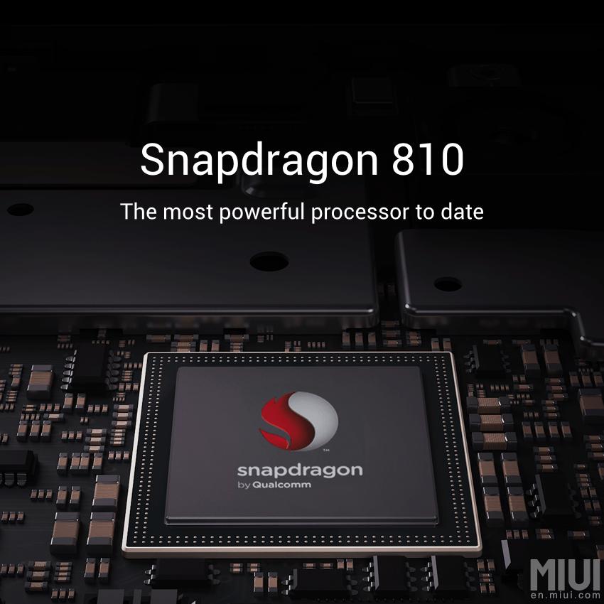 Mi Note Pro : Xiaomi aurait réussi à dompter le Snapdragon 810