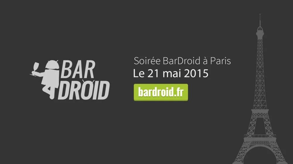 Amis développeurs Android, profitez du BarDroid pour partager votre application