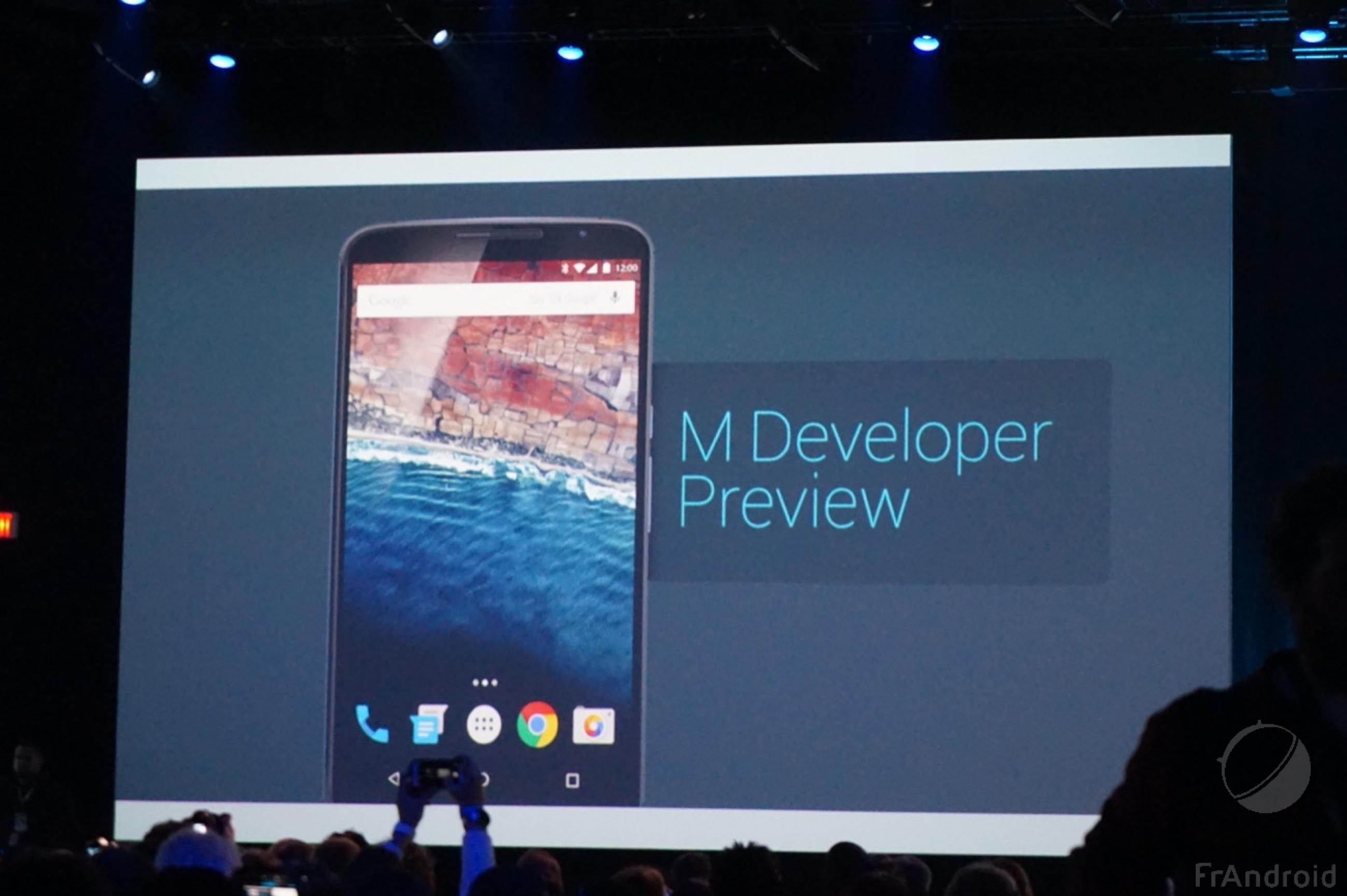 Android M en version finale cet automne