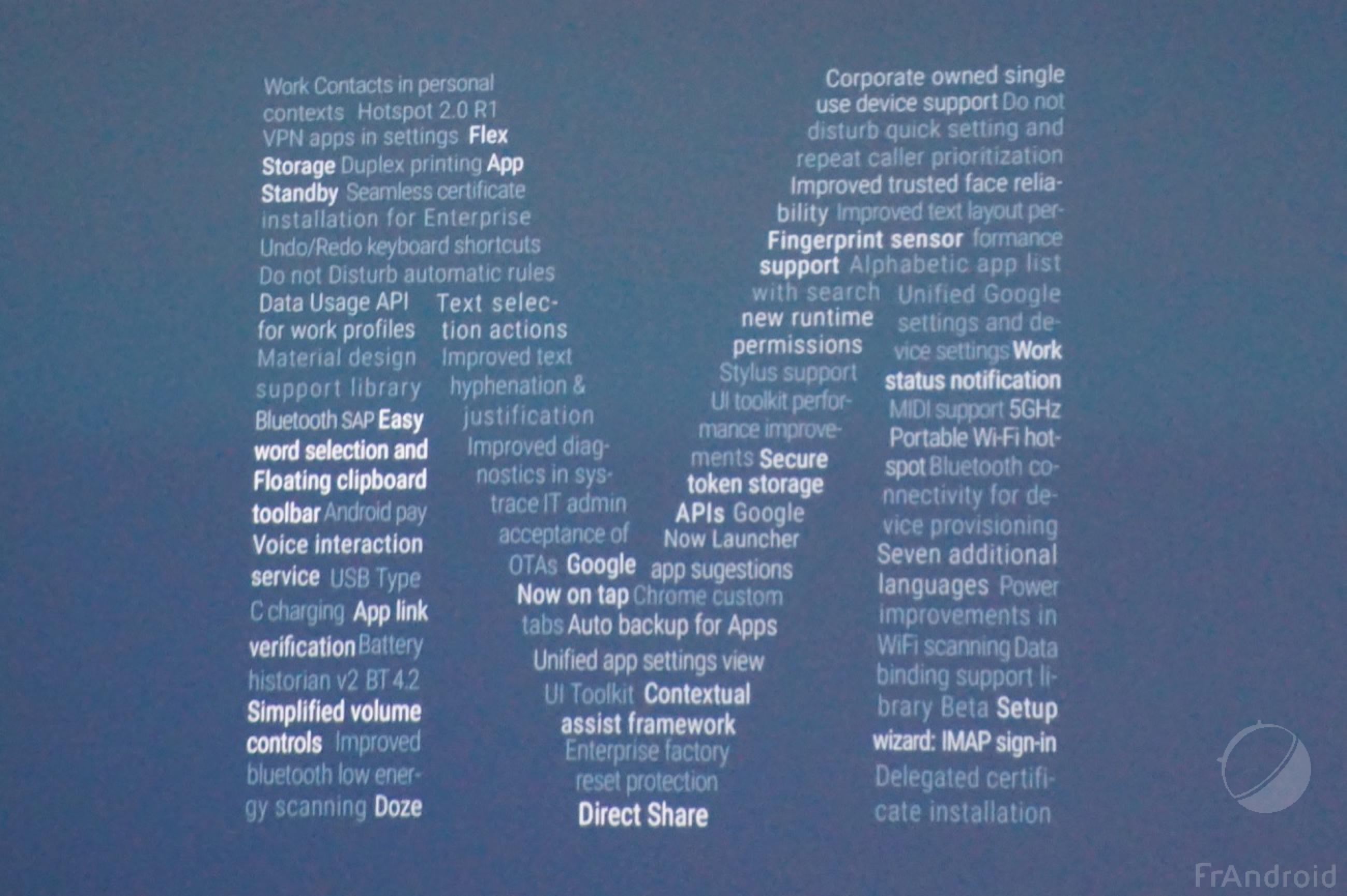 Android M Developer Preview disponible pour les Nexus 5, 6, 9, Player