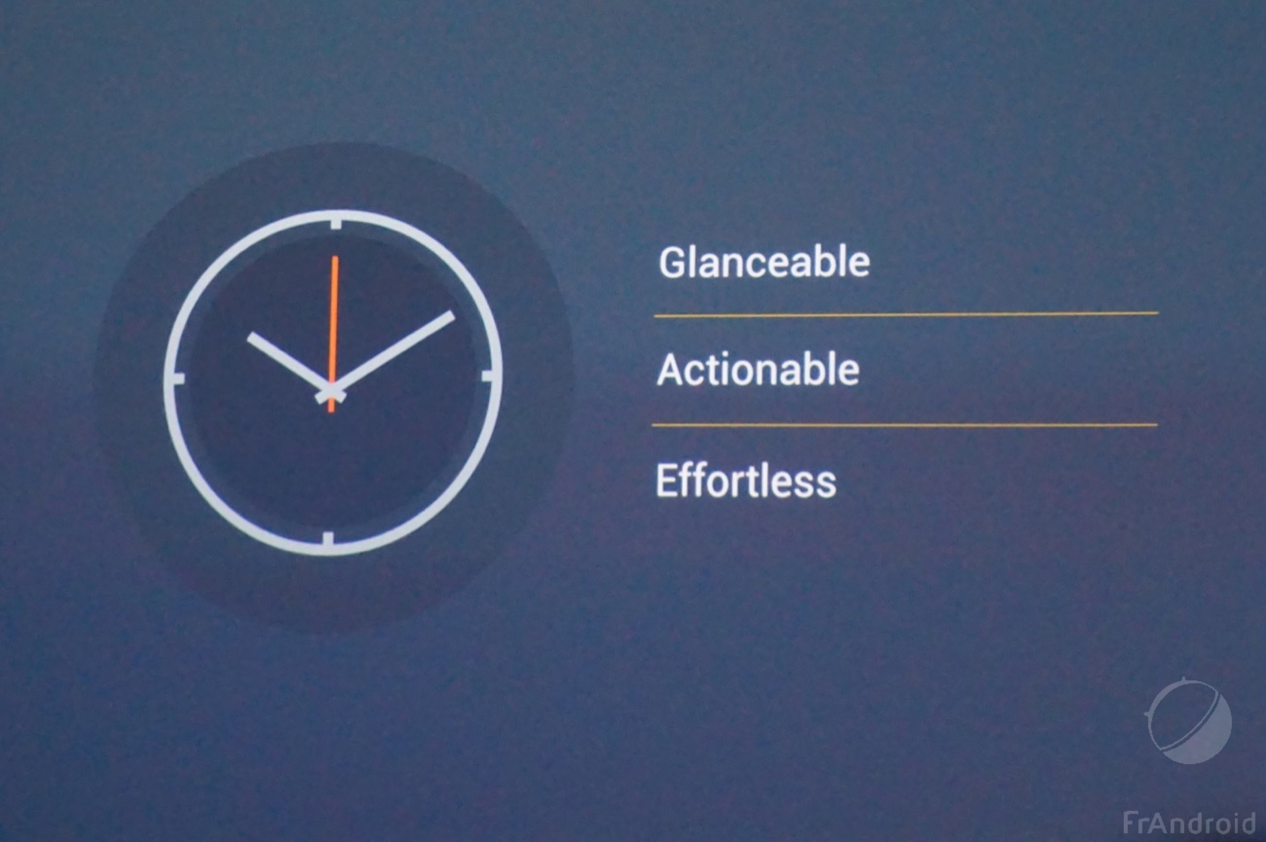 Android Wear : les 4 gros changements