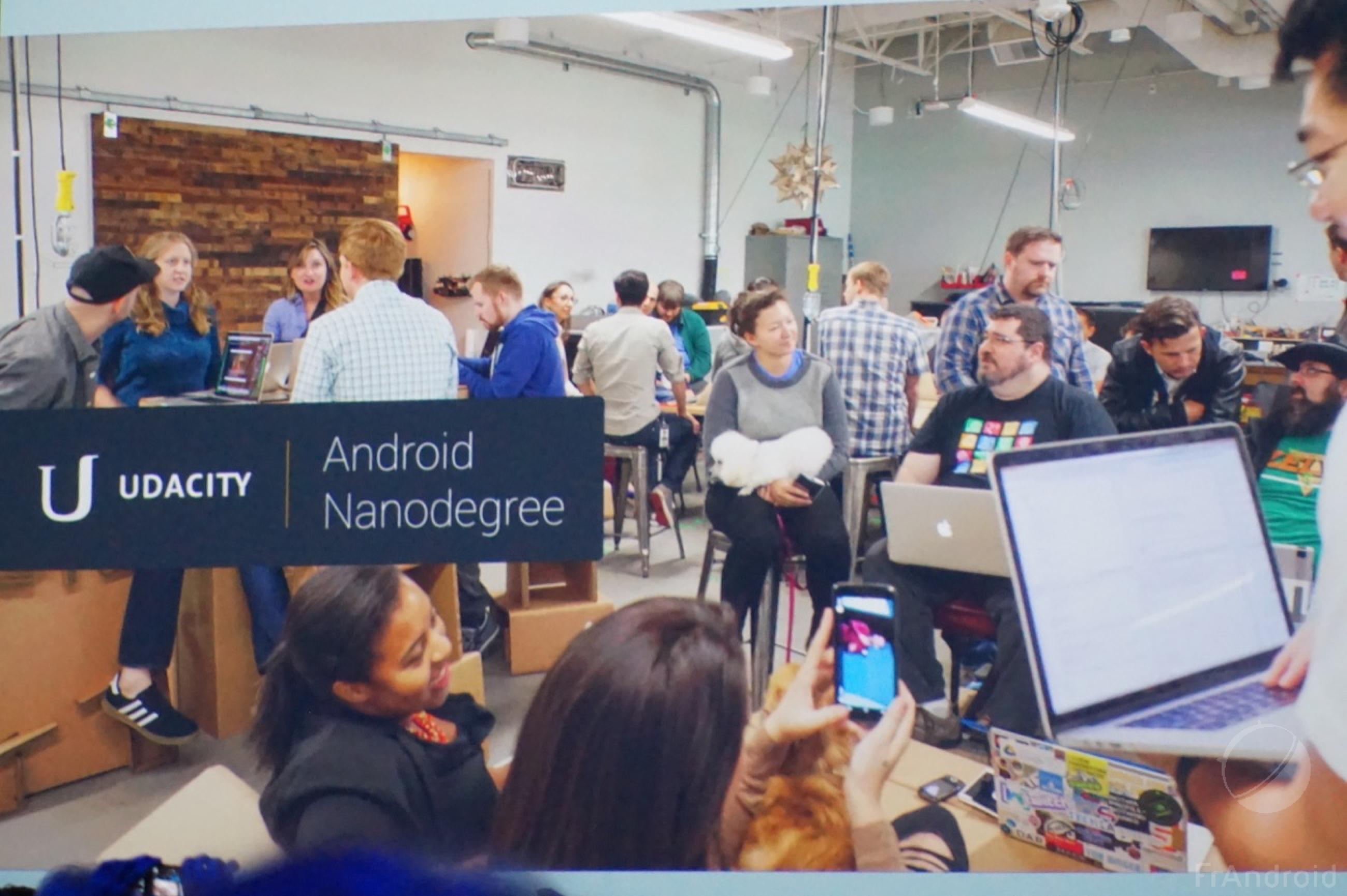 Google va former des développeurs Android sur Udacity