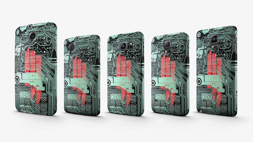 Google met en vente des coques Skrillex pour les Nexus5 et 6, GalaxyS5 et S6 et Galaxy Note4