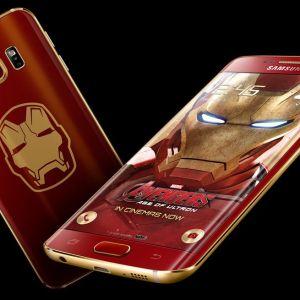 Samsung dévoile le GalaxyS6 edge aux couleurs d'Iron Man