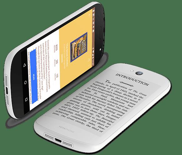 Yotaphone 2 : une baisse relative de prix et un modèle blanc