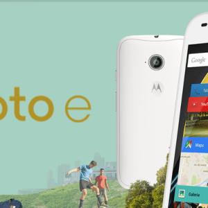 🔥 Vente flash : Le Motorola Moto E 4G à 87 euros au lieu de 139 euros