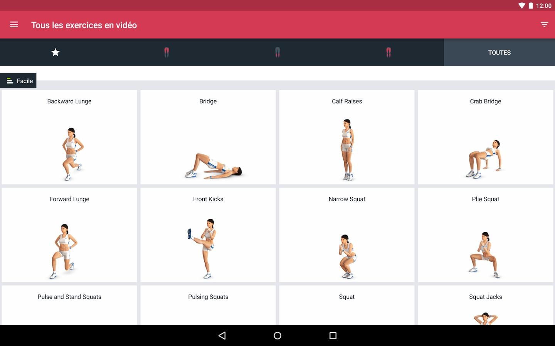 Runtastic Leg Trainer, l'application pour muscler vos jambes avant l'été