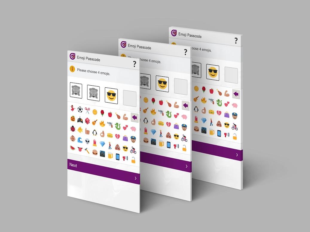 Un mot de passe en emojis, c'est peut-être pour bientôt