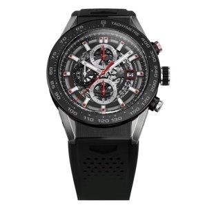 Carrera Wearable 01 : Tag Heuer dévoile une moitié d'image de sa première montre connectée