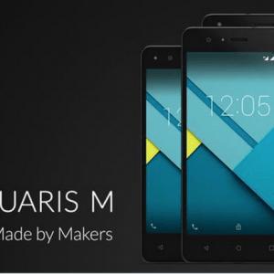 La gamme BQ Aquaris M sera disponible le 1er juillet