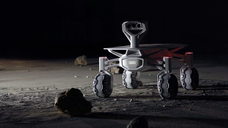 Le rover Audi lunar quattro décollera vers la lune grâce à SpaceX