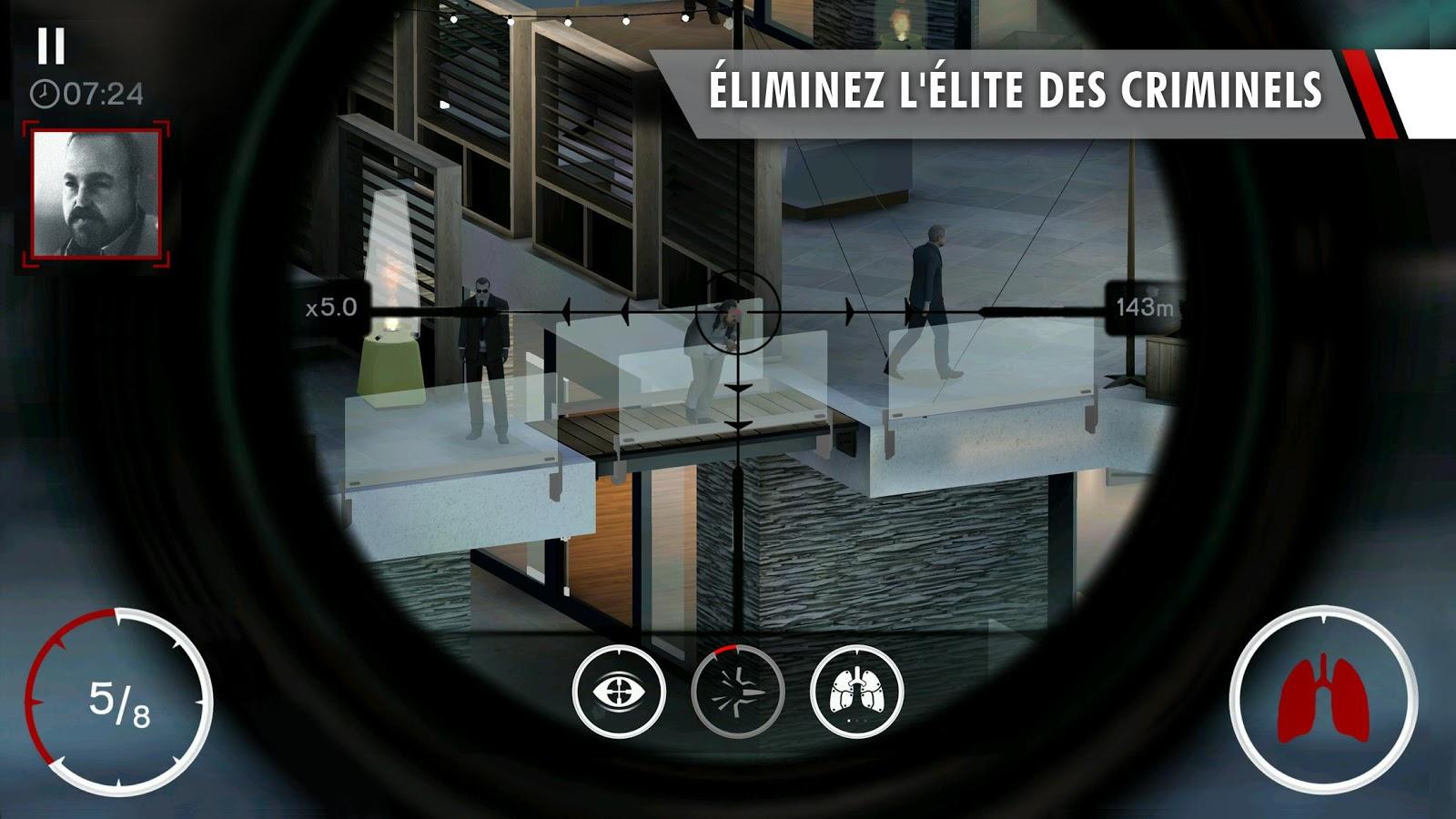 Hitman Sniper est enfin sur le Play Store