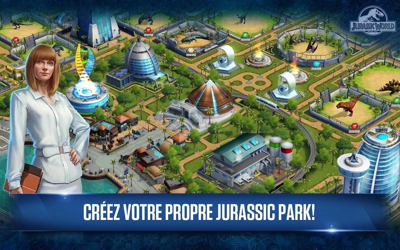 Jurassic World, le jeu de gestion basé sur le film