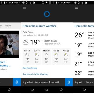 Cortana pour Android fait ses premiers pas, nos premières impressions