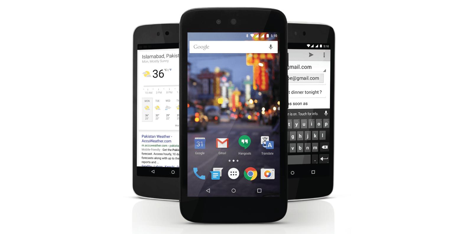 Google lance Android One au Pakistan