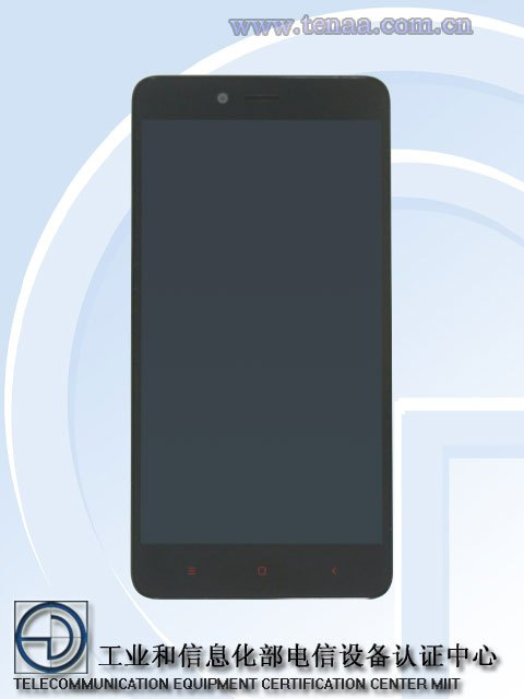 Le Xiaomi Redmi Note 2 est passé entre les mains de la TENAA