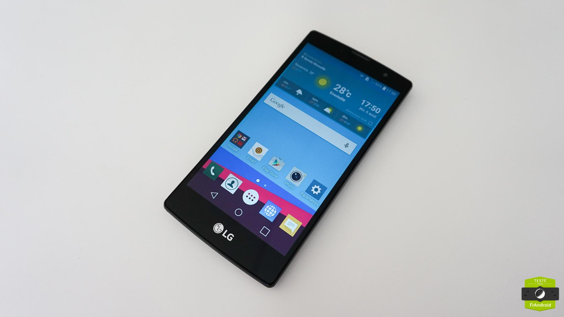 Test du LG G4c, des bonnes idées mais d'importants défauts