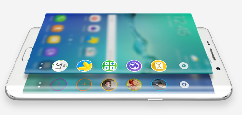 Samsung Galaxy S6 EDGE+ : de nouvelles fonctionnalités pour ses bords incurvés