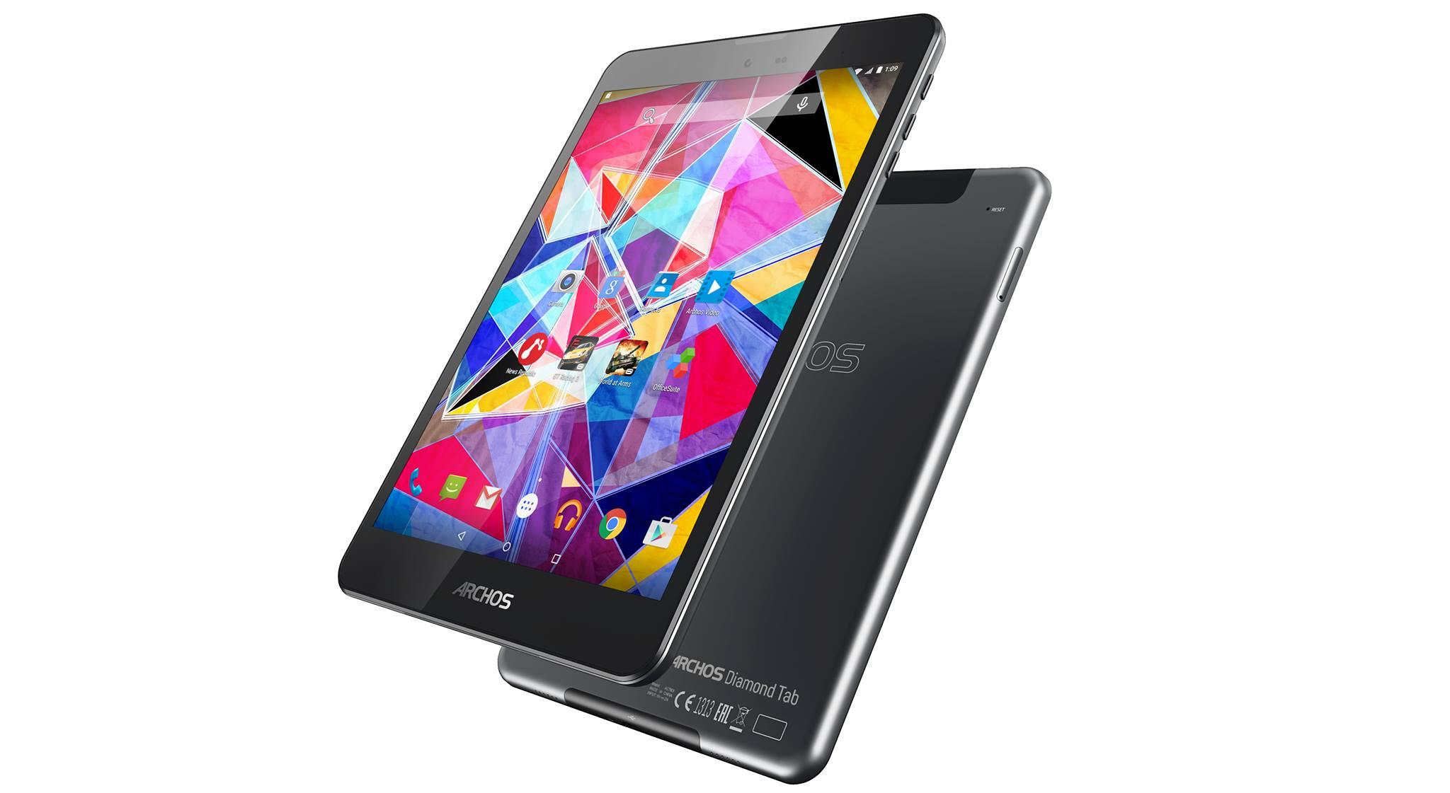 IFA 2015 : Archos annonce la Diamond Tab, 3 Go de RAM dans une tablette à moins de 200 euros