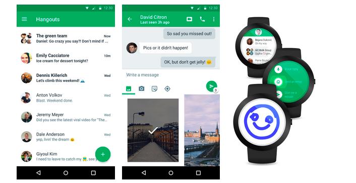 Hangouts4.0 arrive sur Android, plus rapide et avec une nouvelle interface