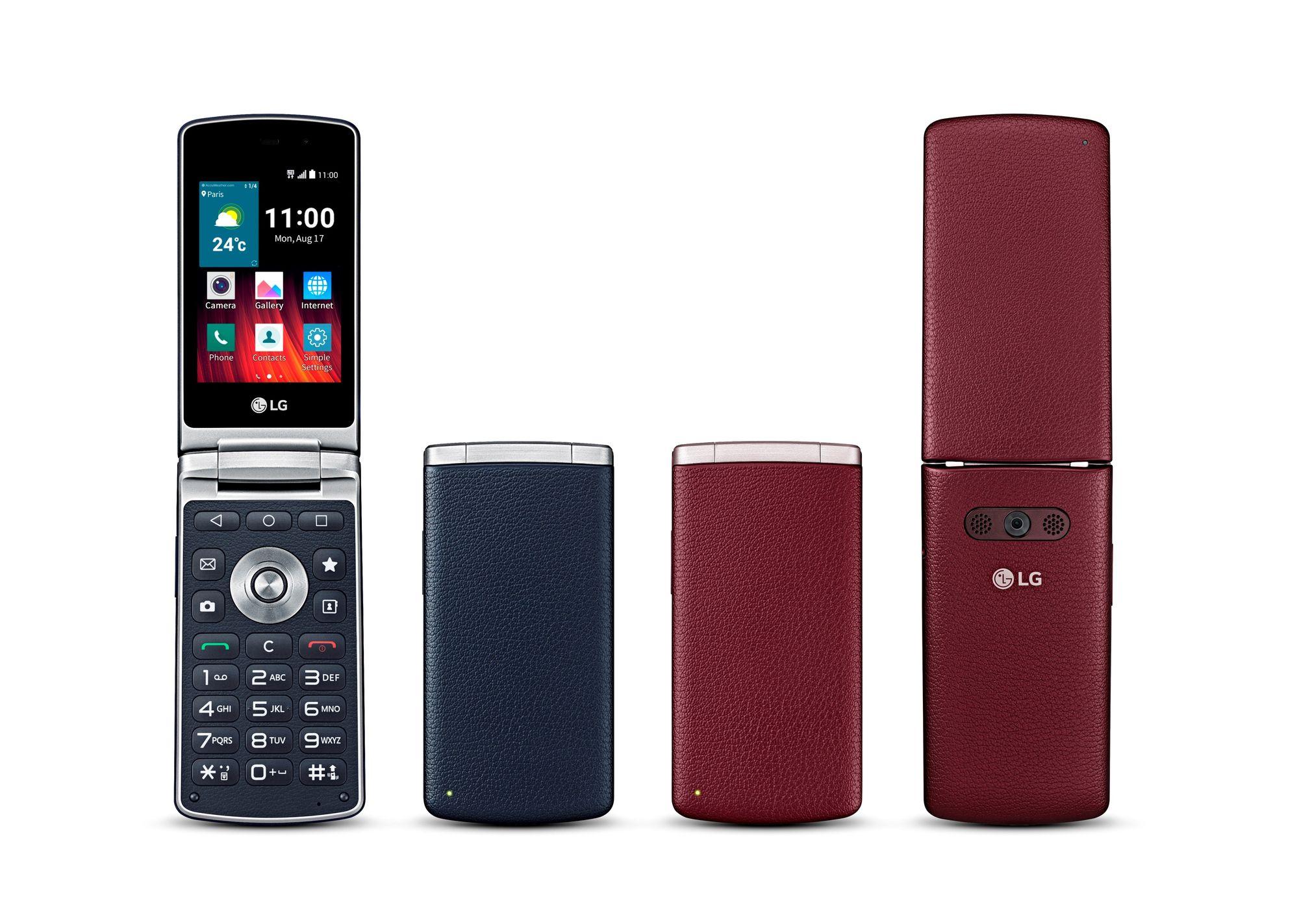 LG Wine Smart : pour un smartphone à clapet, comptez plus de 200 euros