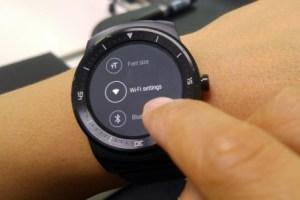 La LG G Watch R désormais compatible WiFi grâce à sa nouvelle mise à jour