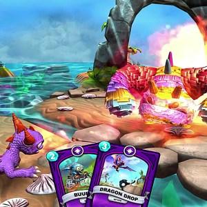 Skylanders Battlecast : le petit dragon se mettra aux cartes sur mobiles dès 2016