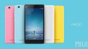 Le Xiaomi Mi4c est officiel : des caractéristiques prometteuses dans un format compact