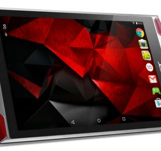 Acer Predator 8 (GT-810), la tablette gaming dévoile ses caractéristiques complètes