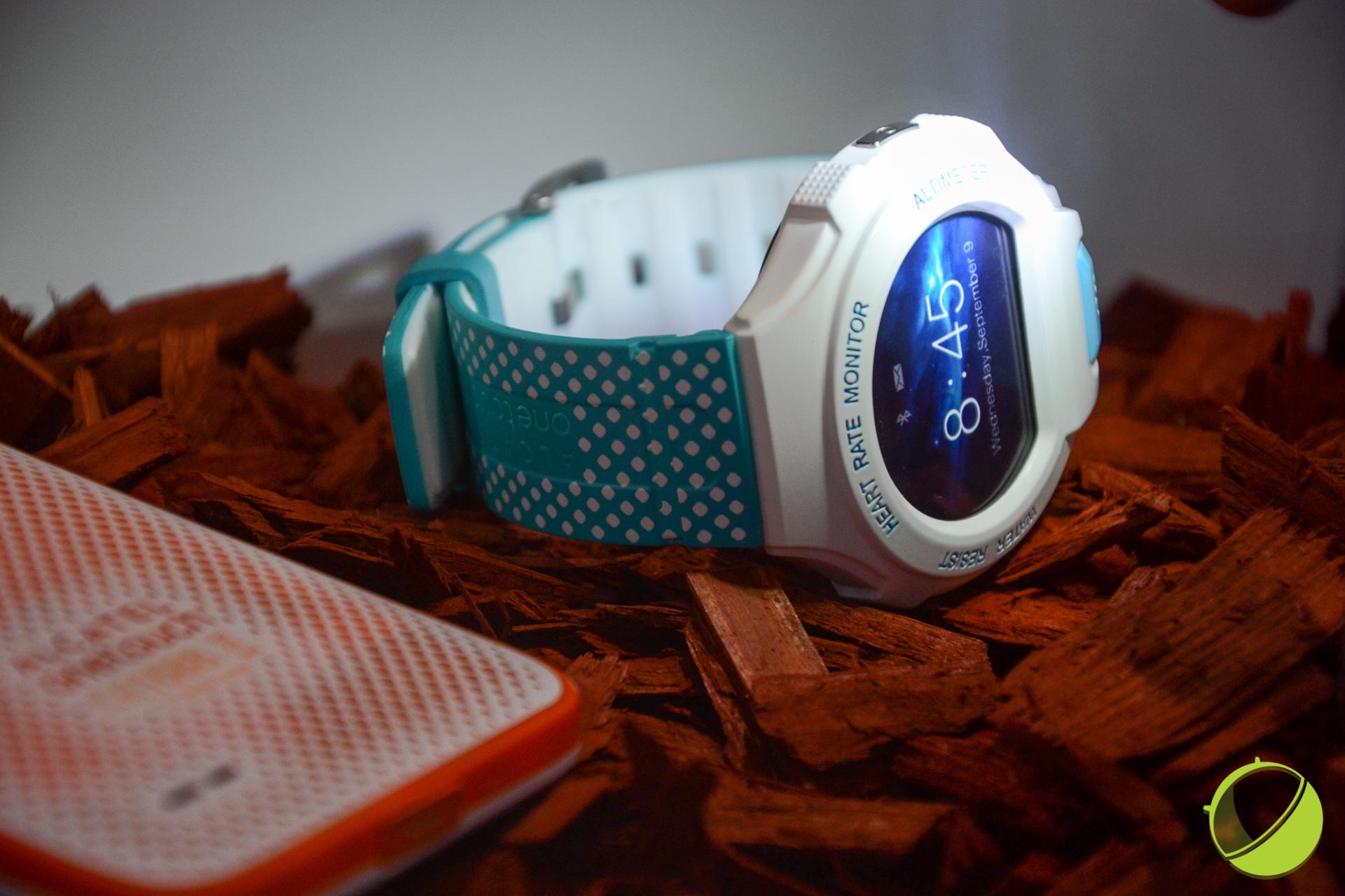 Prise en main de la Alcatel OneTouch Go Watch, une montre qui peut mieux faire