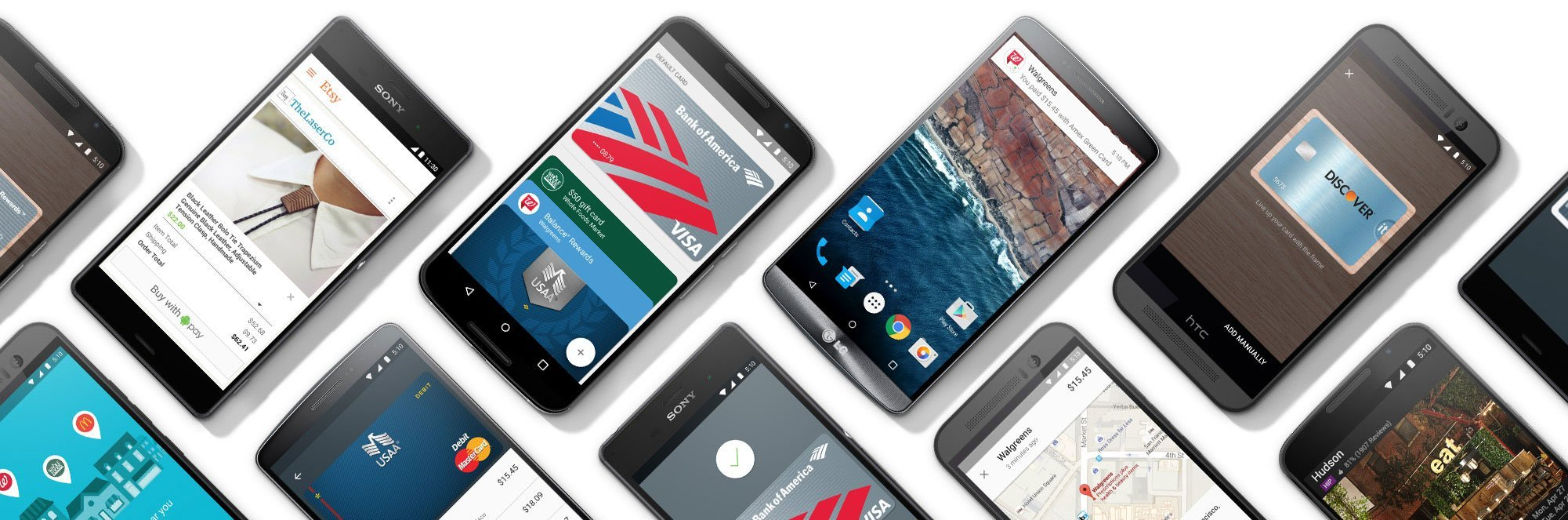 Android Pay est maintenant disponible sur le Play Store