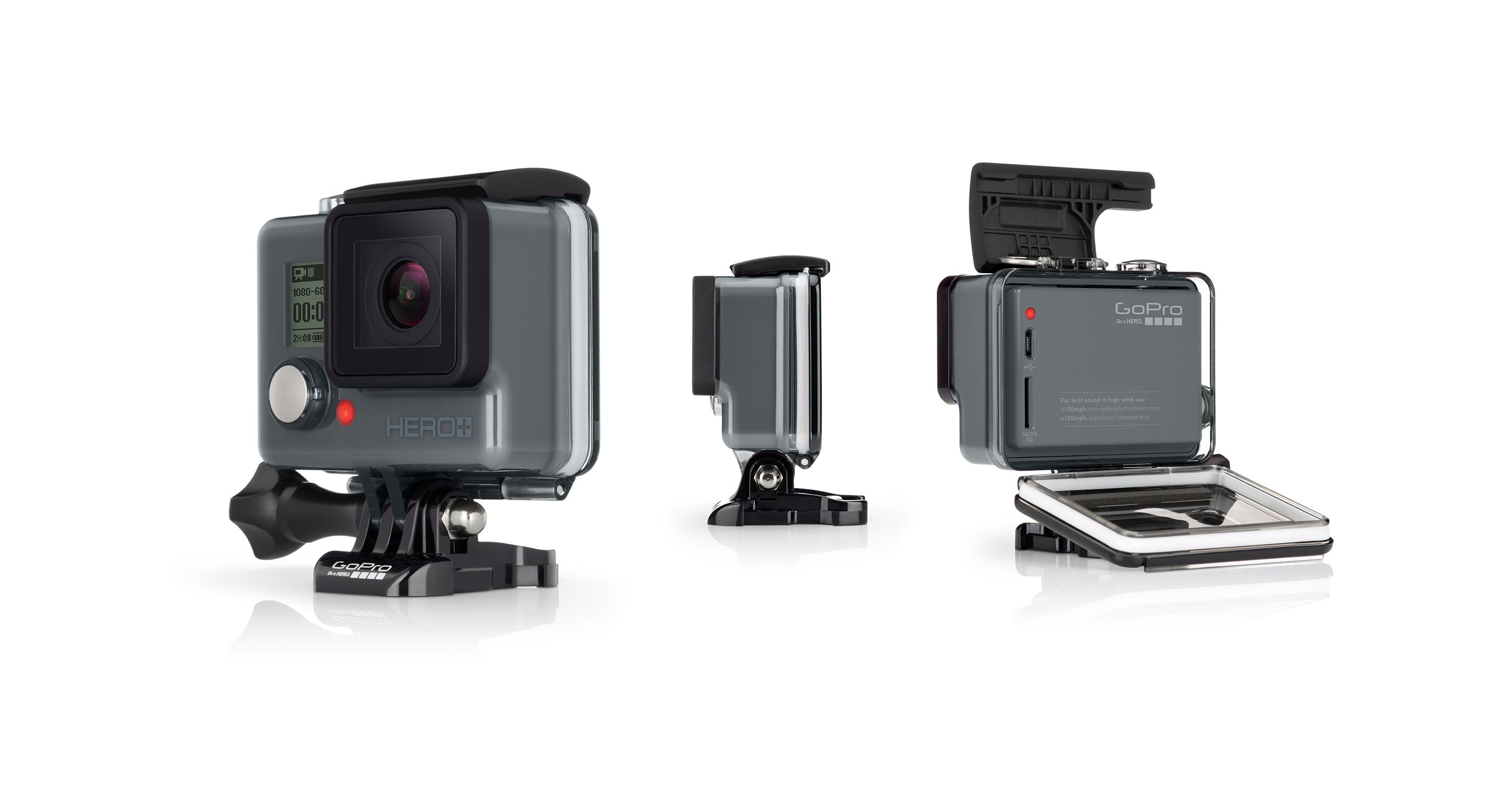 GoPro HERO+ : une nouvelle action cam à «seulement» 229,99 euros