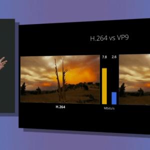 VP10 : le codec de Google pensé pour la 4K face au H.265