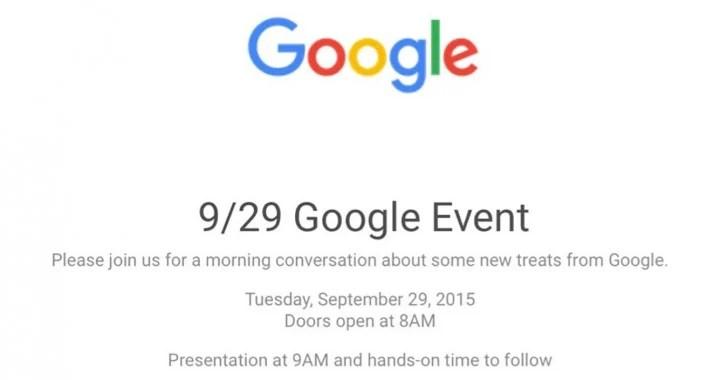 Nexus 5X, Nexus 6P, Chromecast… : Suivez la conférence Google avec FrAndroid !