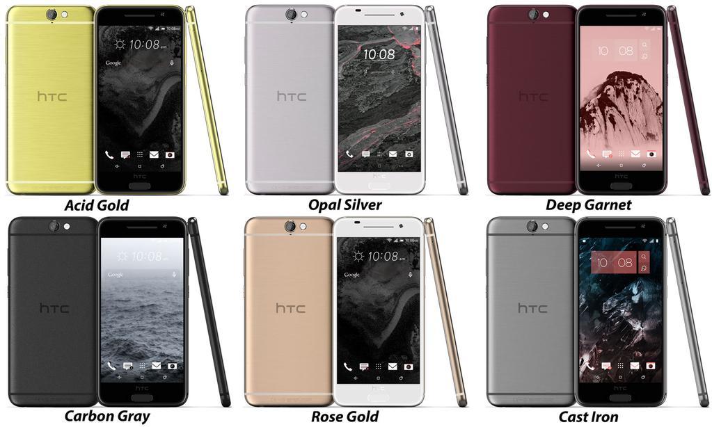 HTC OneA9 : une nouvelle fuite d'images montre un design très proche de l'iPhone6