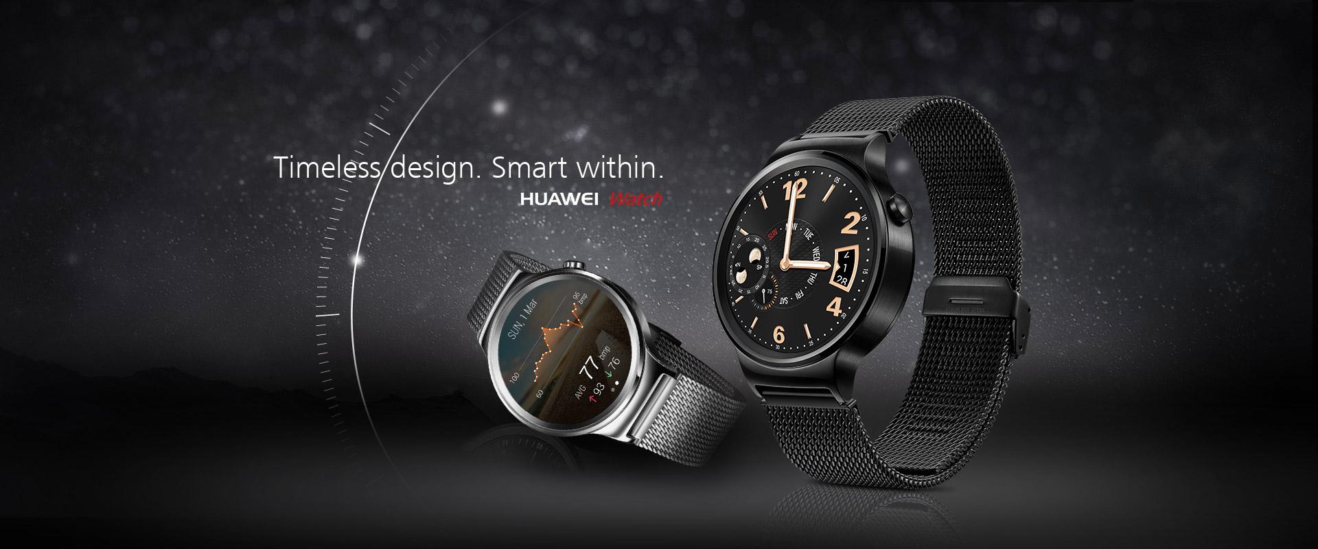 Huawei Watch : sa date de sortie et ses prix sont désormais officiels