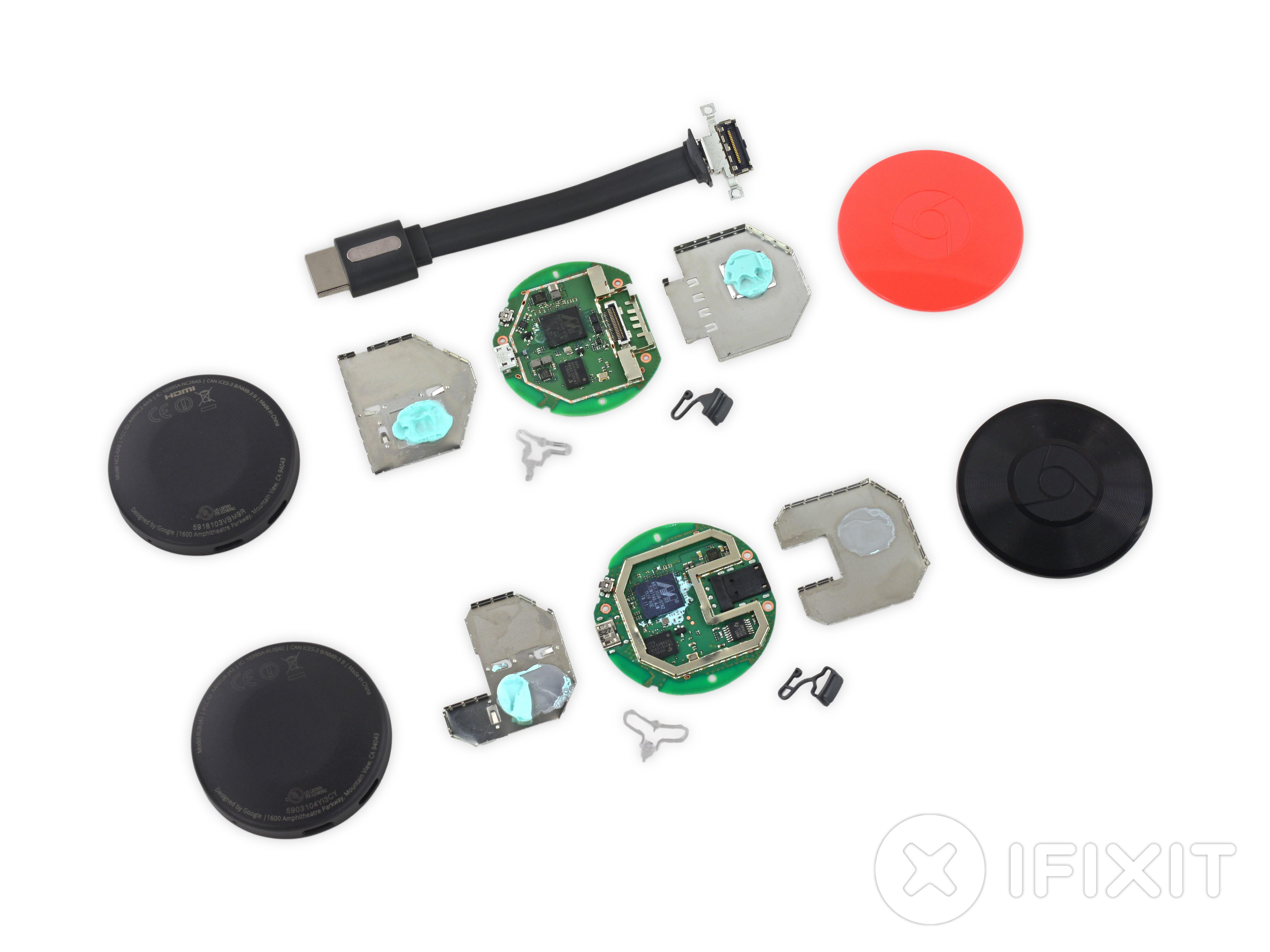 iFixit démonte les nouveaux Chromecast