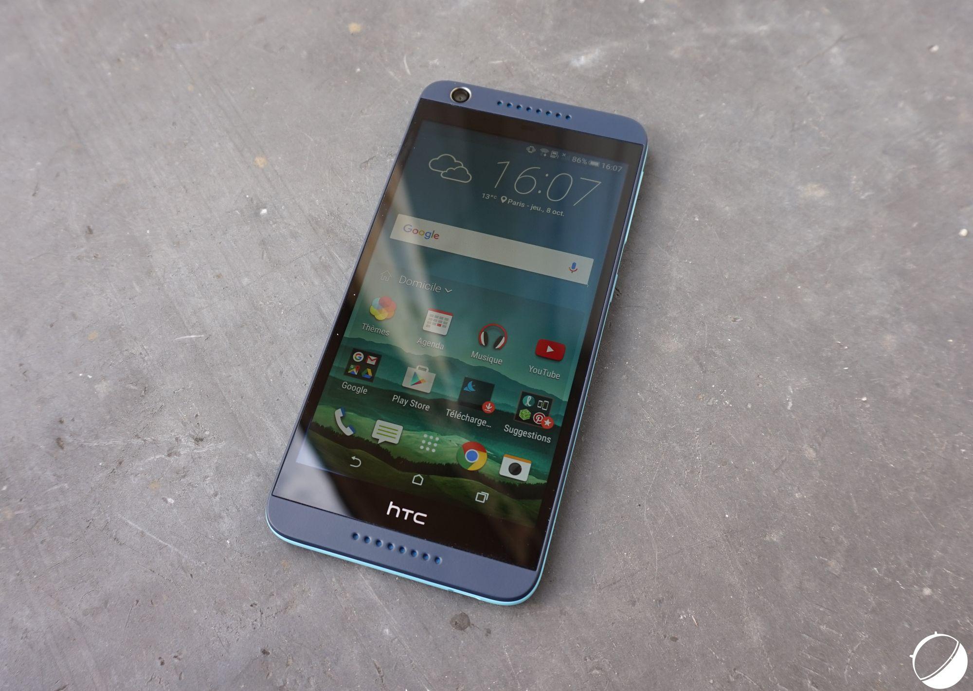 Test du HTC Desire 626 : en retard de six mois, deux fois trop cher