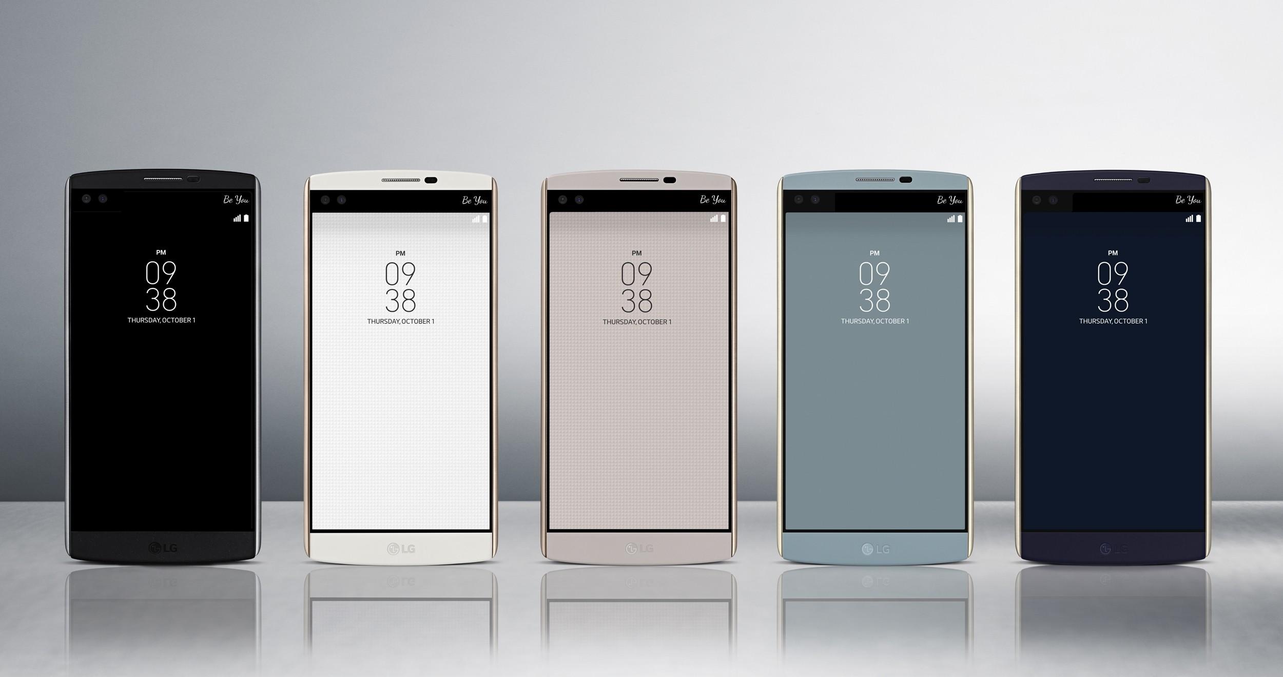 LG V10 : le fonctionnement de son second écran se montre en détail
