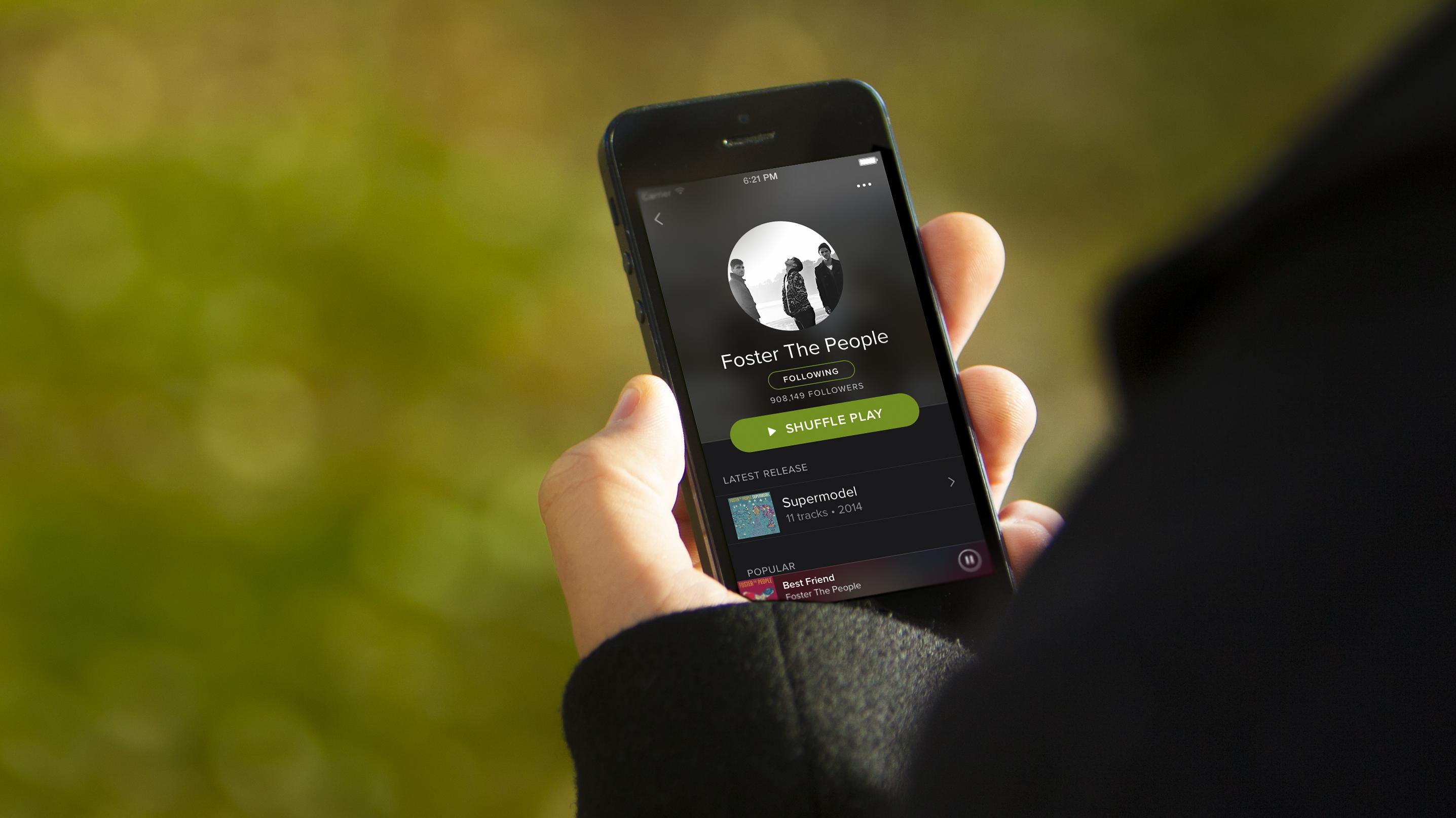 Spotify dépasse les 650 000 abonnés en France, grâce à Bouygues Telecom