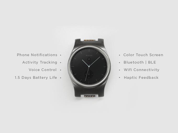 La montre connectée modulaire BLOCKS est enfin disponible en précommande