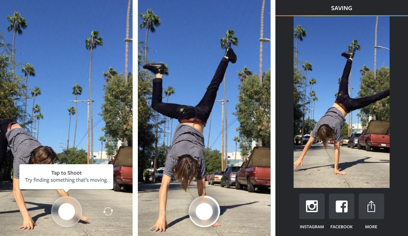 Instagram présente Boomerang, sa nouvelle application de mini-vidéos