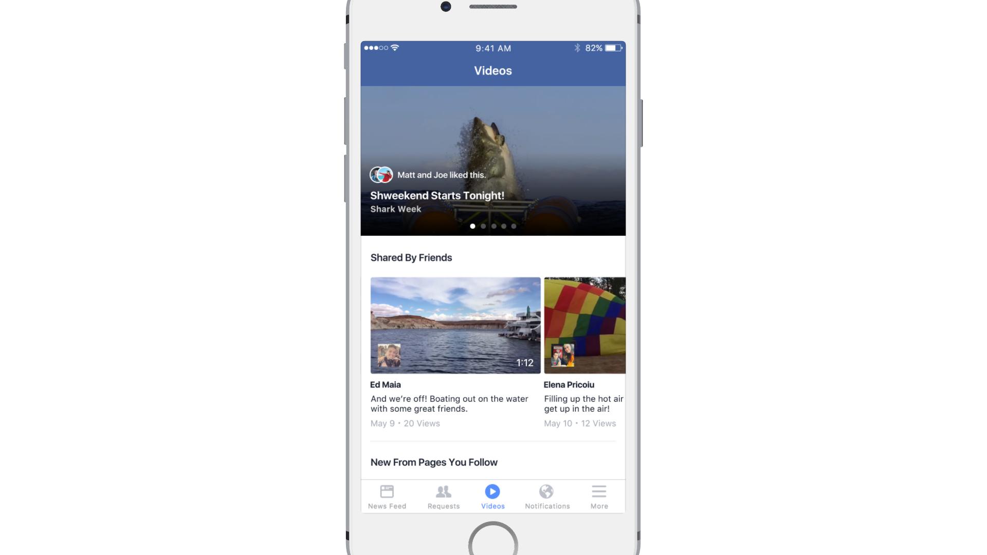 Facebook dévoile ses ambitions dans le domaine de la vidéo