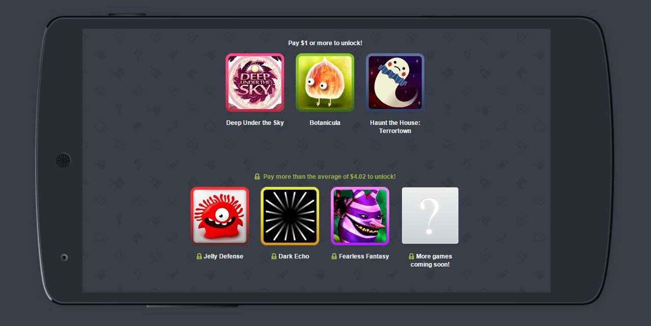 Humble Mobile Bundle Eye Candy : une sélection de jeux rien que pour nos yeux