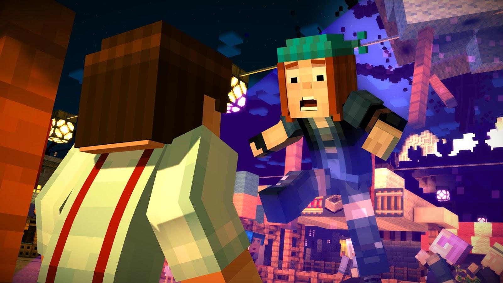 Minecraft Story Mode est disponible sur le Play Store