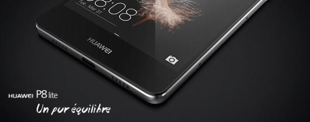 Bon plan : Sosh propose le Huawei P8 Lite à 189 euros