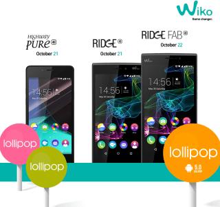 Wiko s'apprête à mettre 3 de ses smartphones à jour vers Lollipop