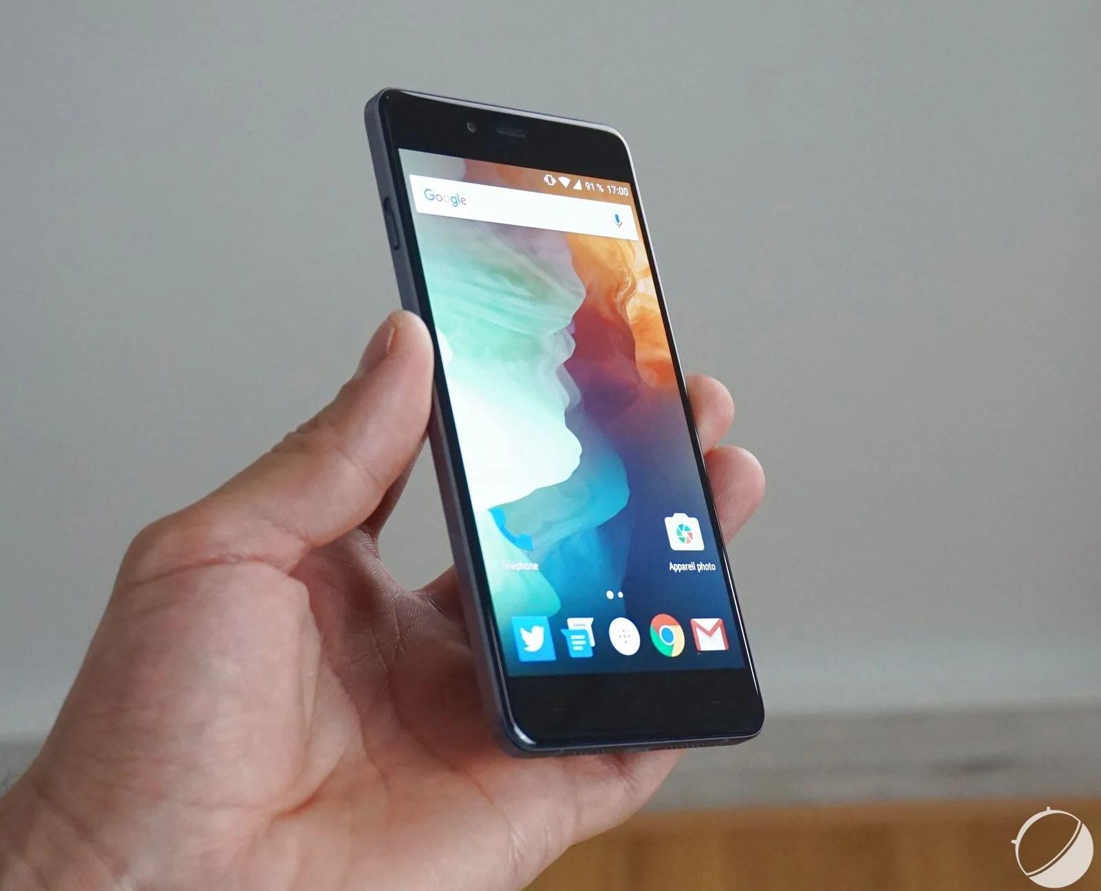 OnePlus X : une mise à jour pour améliorer le support des cartes microSD