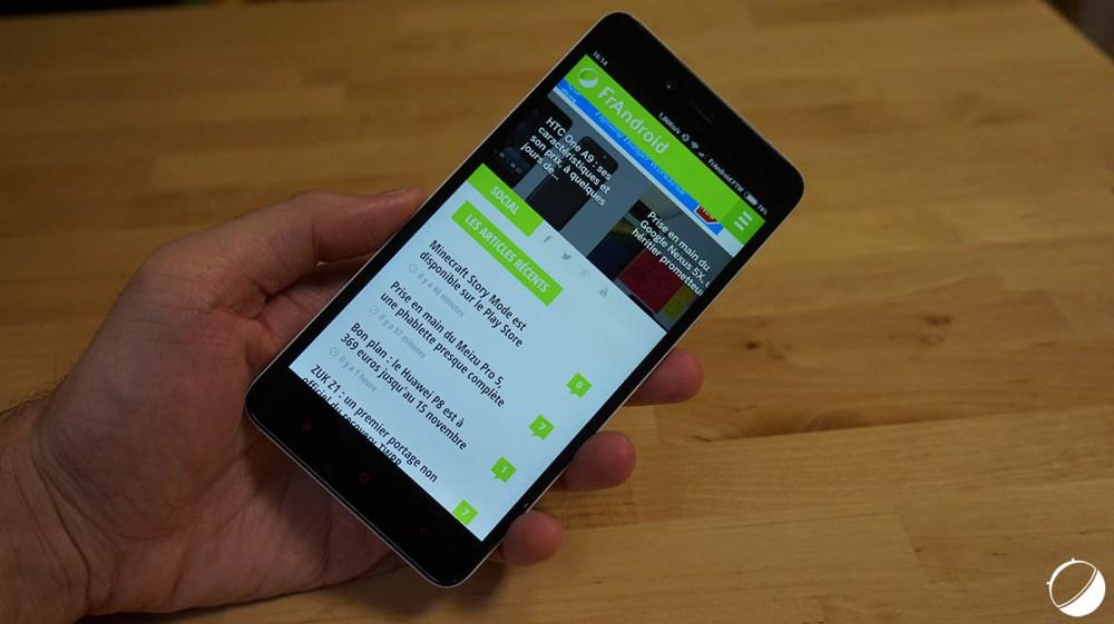 Bon plan : Le Xiaomi Redmi Note 2 est à 164,99 euros et 45 euros en bons d'achat